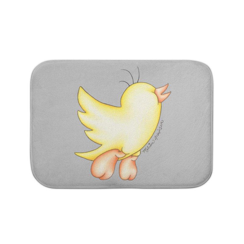 Tweeter Home Bath Mat by MelJo JoJo's Artist Shop