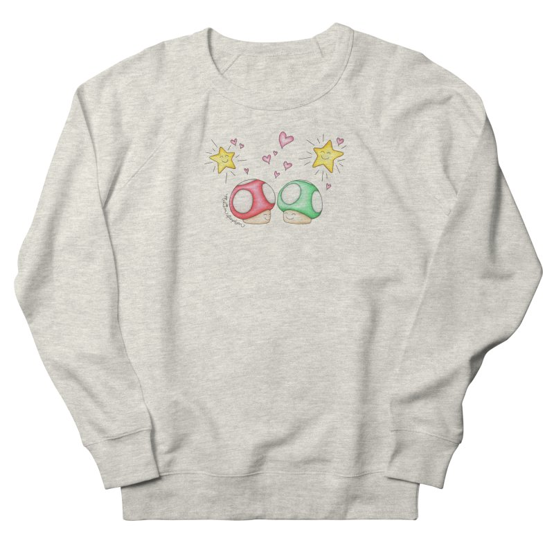 Mushroom Love Men's Sweatshirt by MelJo JoJo's Artist Shop