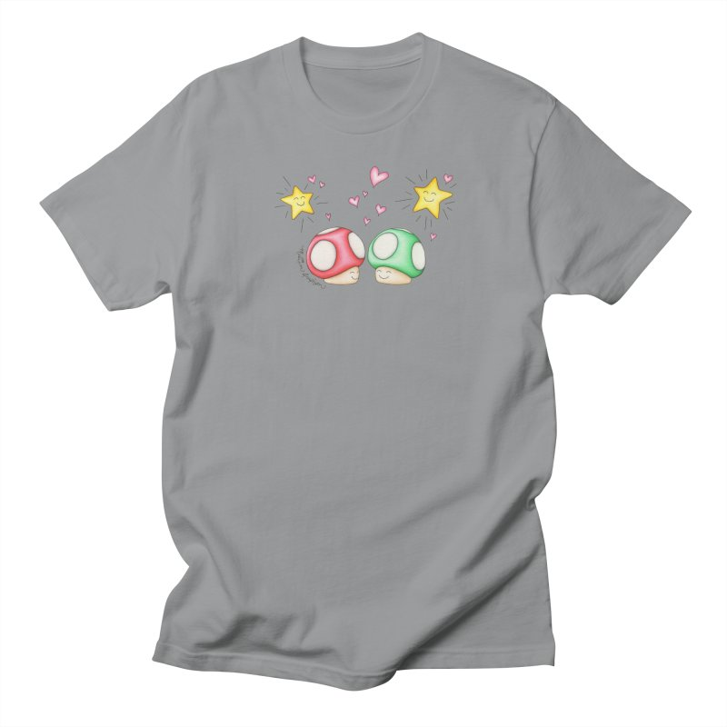 Mushroom Love Women's Unisex T-Shirt by MelJo JoJo's Artist Shop