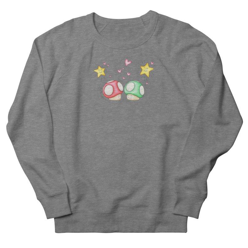 Mushroom Love Women's Sweatshirt by MelJo JoJo's Artist Shop