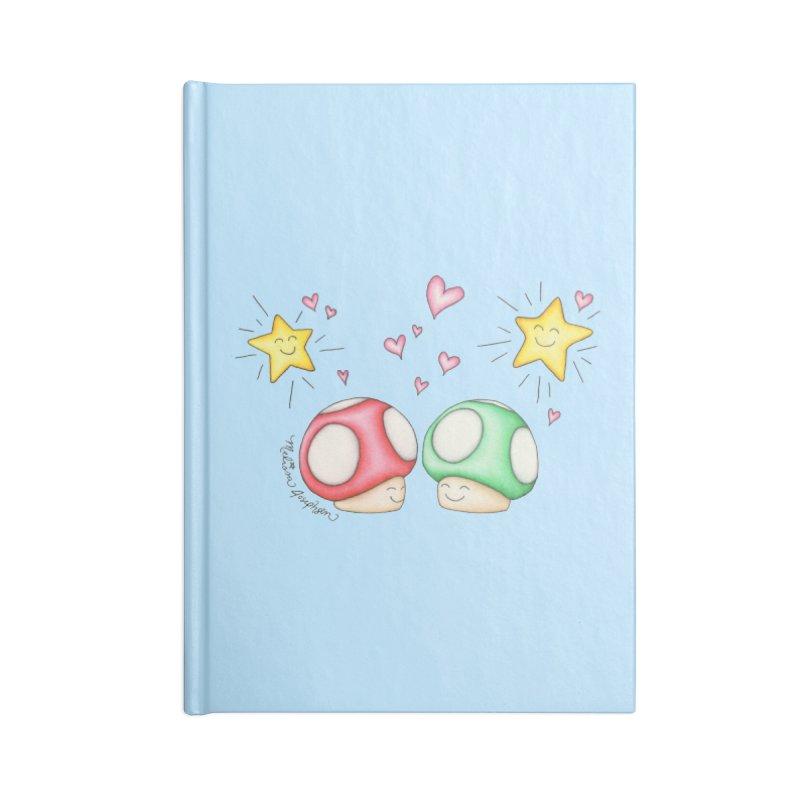 Mushroom Love Accessories Notebook by MelJo JoJo's Artist Shop