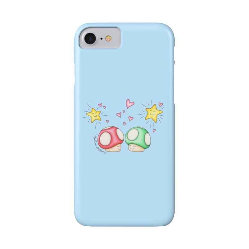 Mushroom Love Accessories Phone Case by MelJo JoJo's Artist Shop
