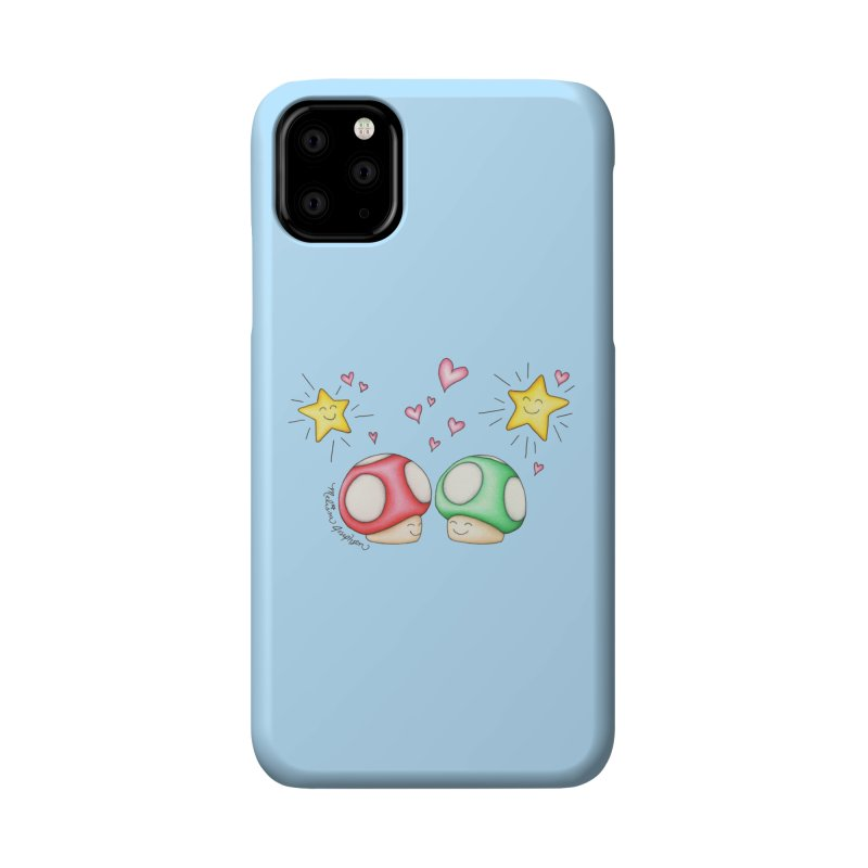 Mushroom Love Accessories Phone Case by MelJo JoJo's Artist Shop