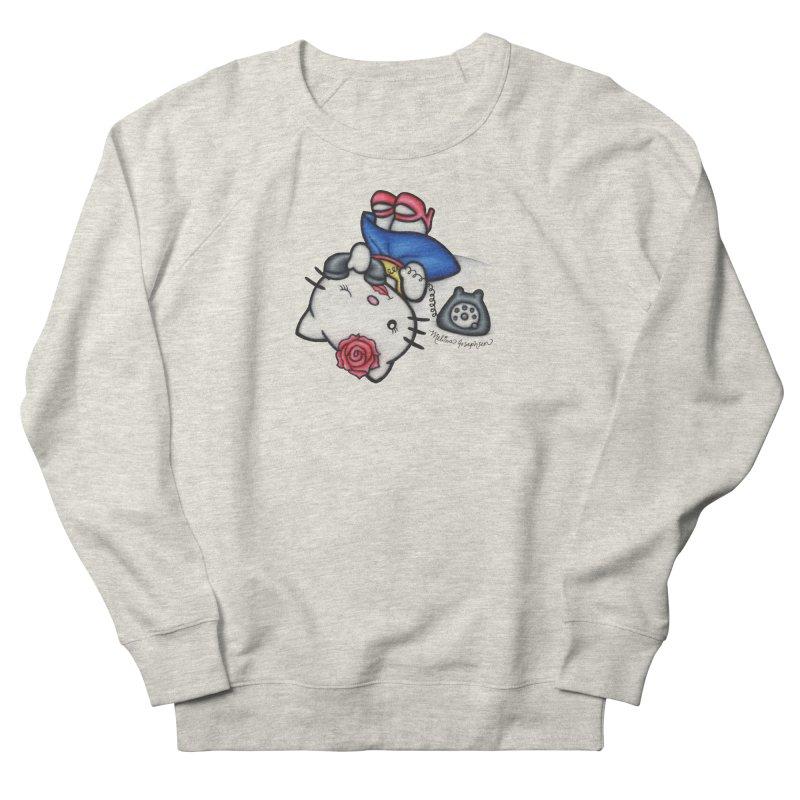 Salutations Kitty Women's Sweatshirt by MelJo JoJo's Artist Shop