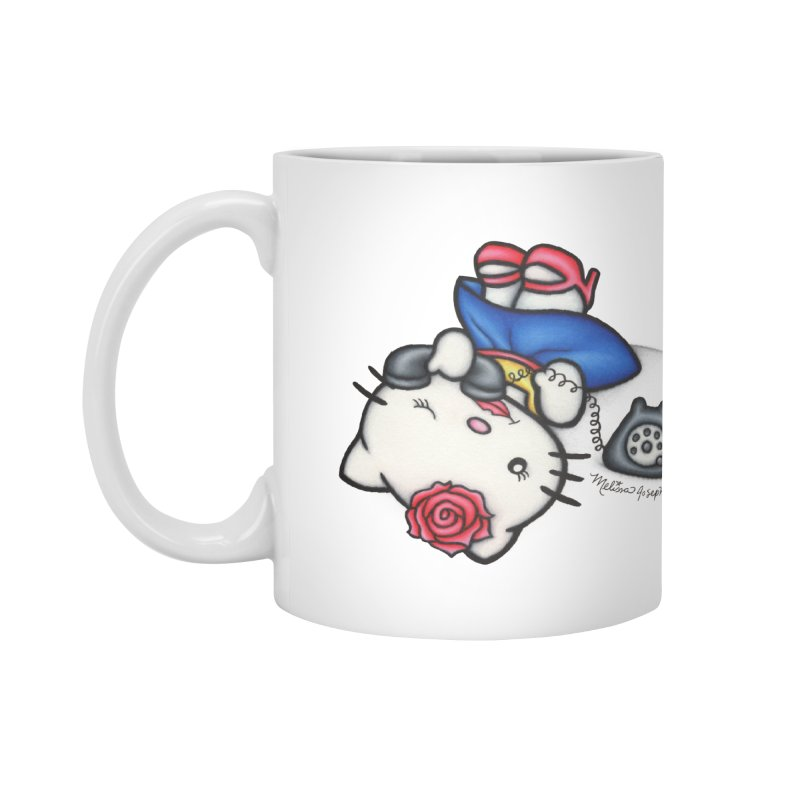 Salutations Kitty Accessories Mug by MelJo JoJo's Artist Shop