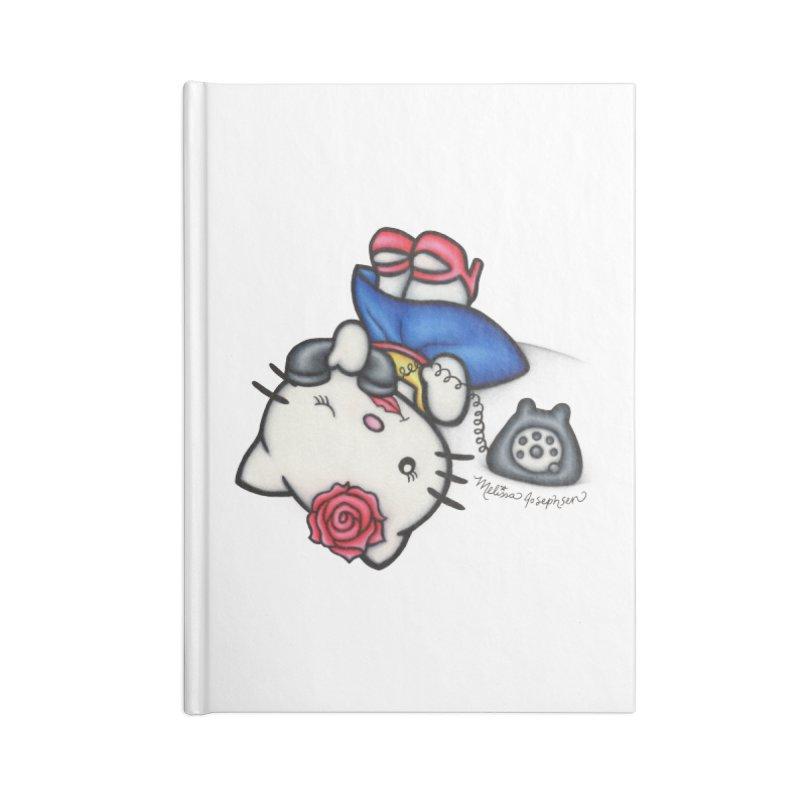Salutations Kitty Accessories Notebook by MelJo JoJo's Artist Shop