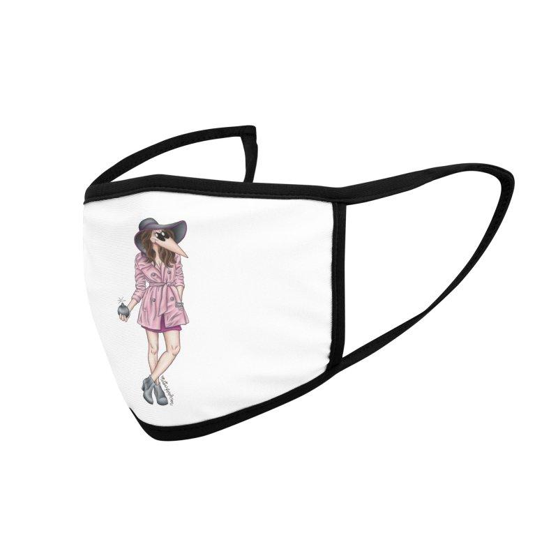 Girly Spy Accessories Face Mask by MelJo JoJo's Artist Shop