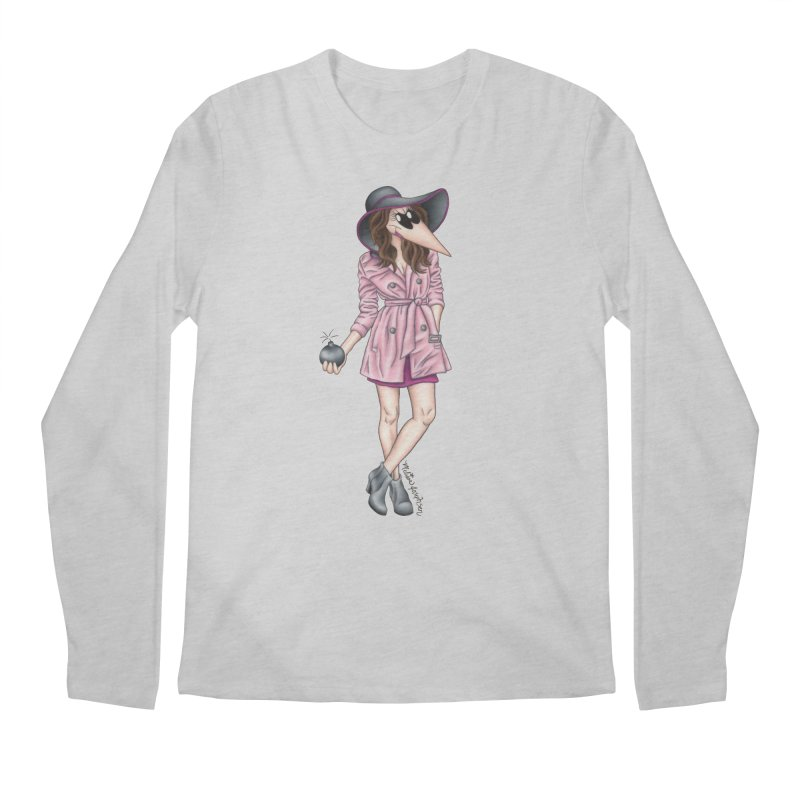 Girly Spy Men's Longsleeve T-Shirt by MelJo JoJo's Artist Shop