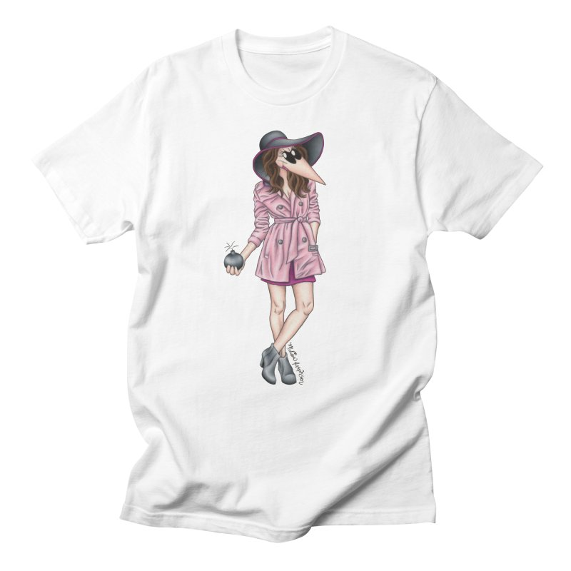 Girly Spy Women's Regular Unisex T-Shirt by MelJo JoJo's Artist Shop