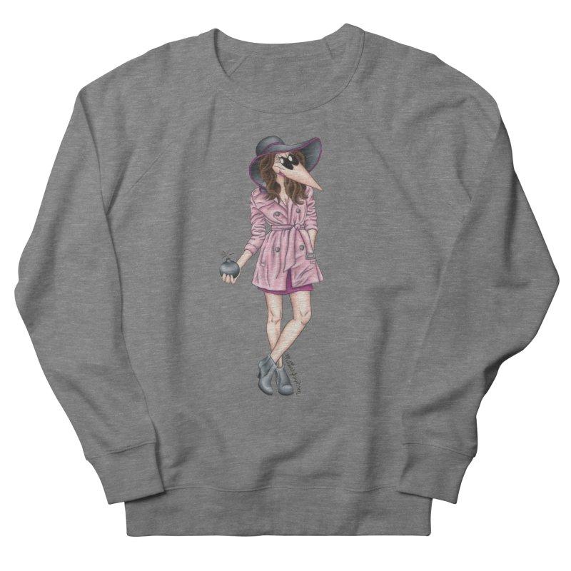 Girly Spy Women's French Terry Sweatshirt by MelJo JoJo's Artist Shop