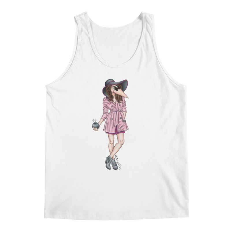 Girly Spy Men's Regular Tank by MelJo JoJo's Artist Shop