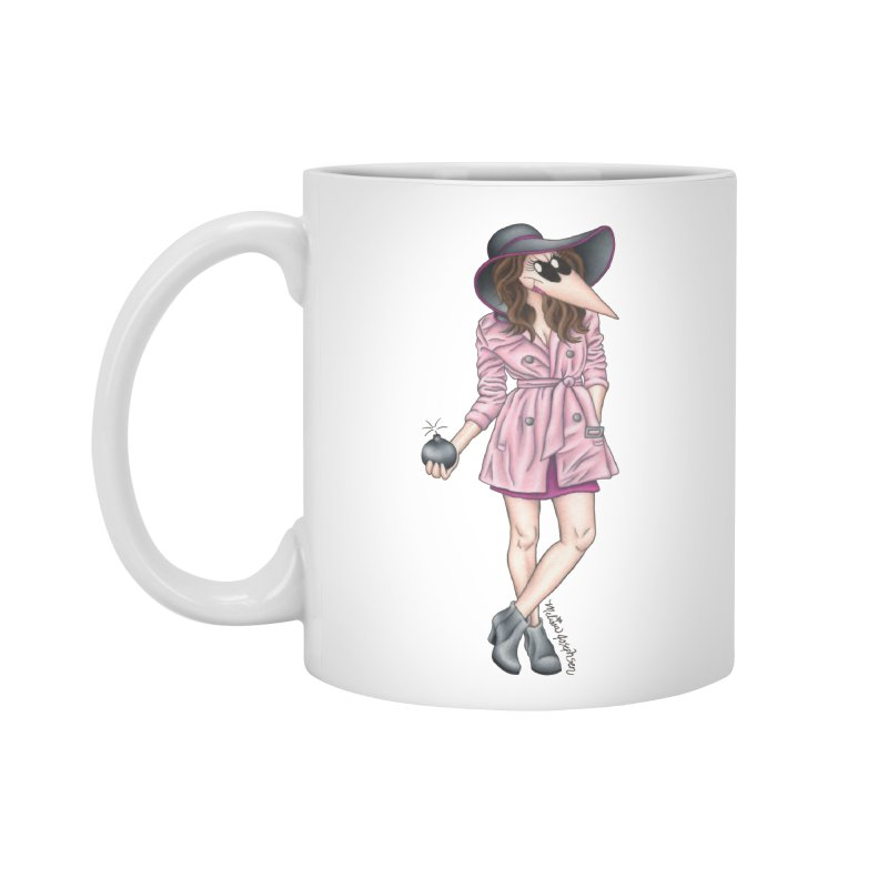 Girly Spy Accessories Standard Mug by MelJo JoJo's Artist Shop