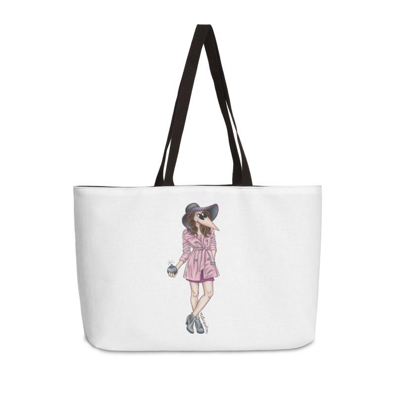 Girly Spy Accessories Weekender Bag Bag by MelJo JoJo's Artist Shop
