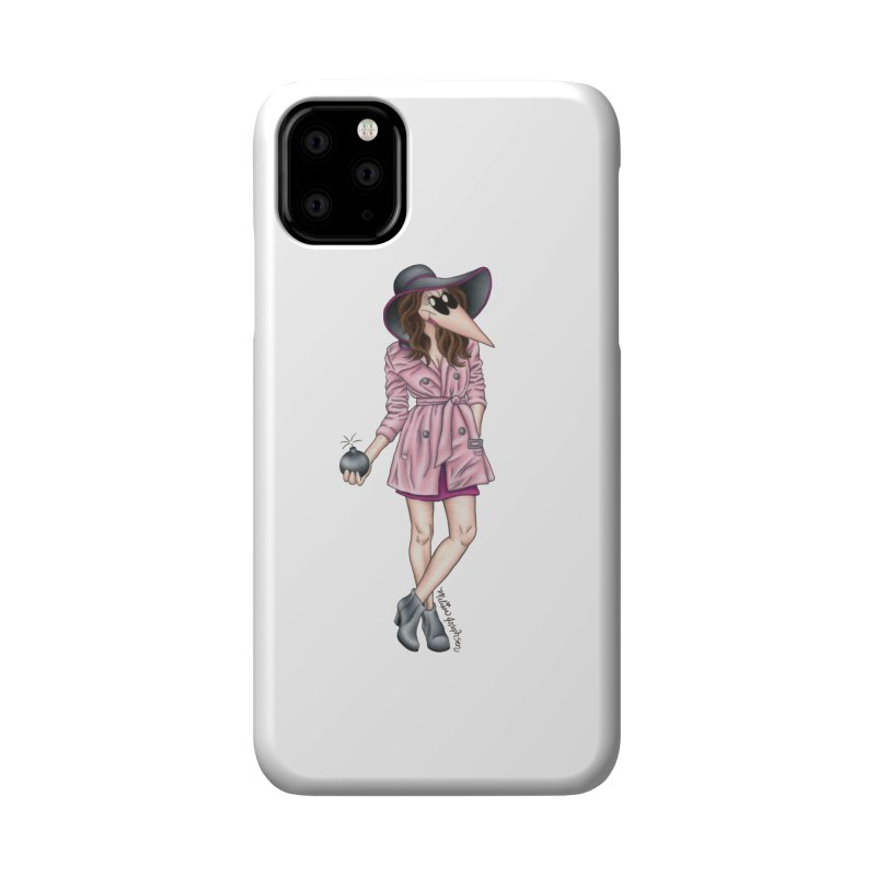 Girly Spy Accessories Phone Case by MelJo JoJo's Artist Shop