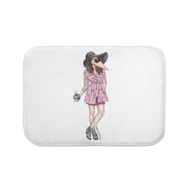 Girly Spy Home Bath Mat by MelJo JoJo's Artist Shop