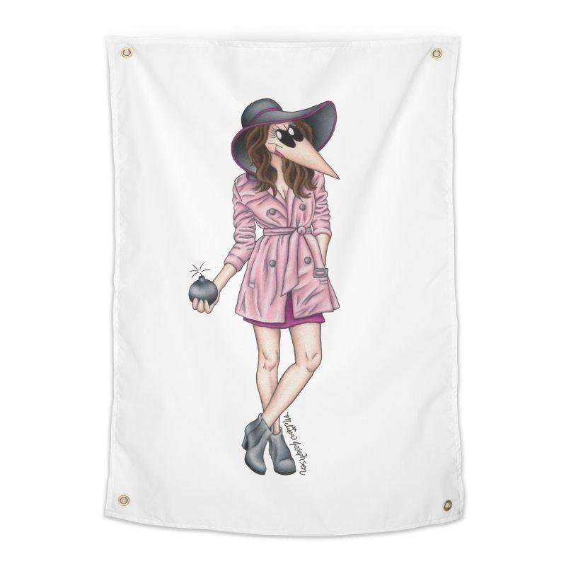 Girly Spy Home Tapestry by MelJo JoJo's Artist Shop