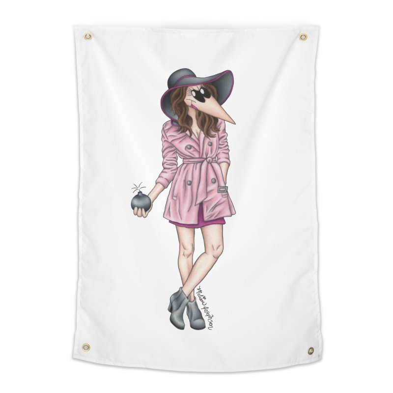Girly Spy Home Tapestry by MelJo JoJo's Artist Shop