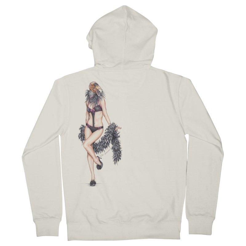 California Condor Gurl Women's Zip-Up Hoody by MelJo JoJo's Artist Shop