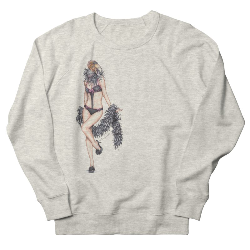 California Condor Gurl Men's Sweatshirt by MelJo JoJo's Artist Shop