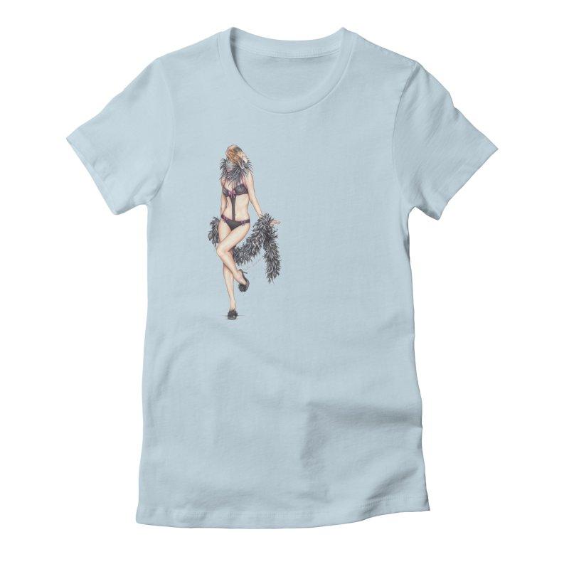 California Condor Gurl Women's T-Shirt by MelJo JoJo's Artist Shop