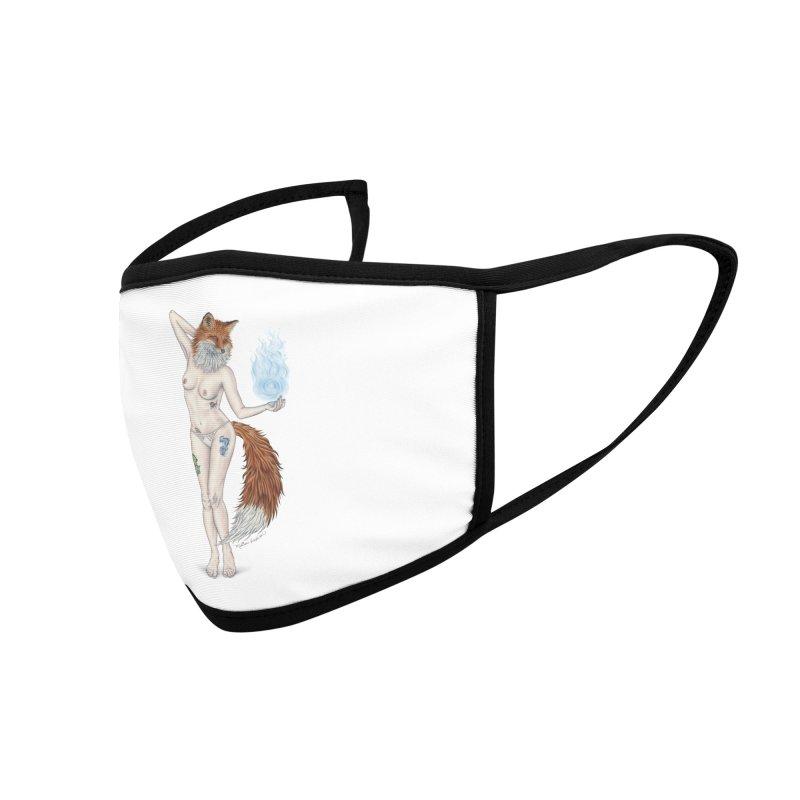 Sparkle Fox Accessories Face Mask by MelJo JoJo's Artist Shop