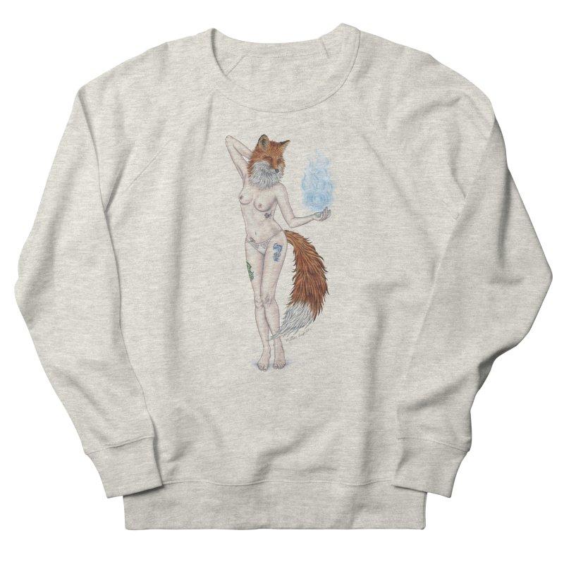 Sparkle Fox Women's Sweatshirt by MelJo JoJo's Artist Shop