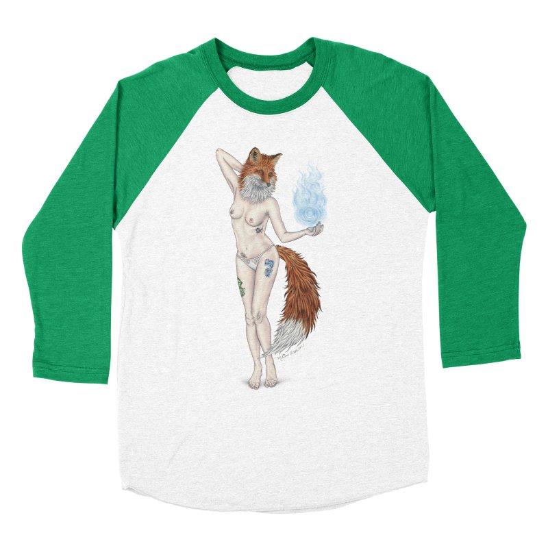 Sparkle Fox Men's Longsleeve T-Shirt by MelJo JoJo's Artist Shop