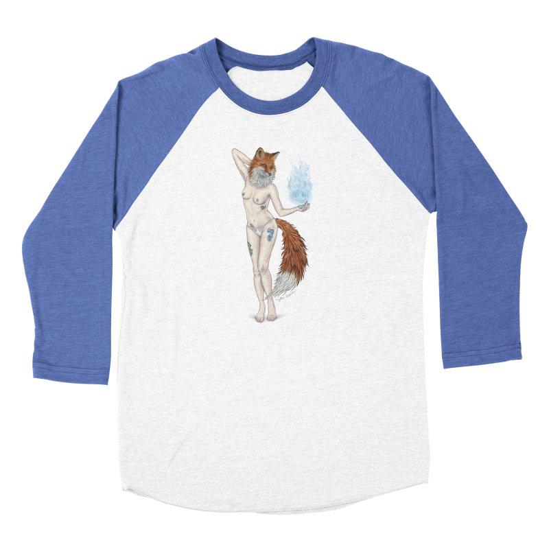 Sparkle Fox Women's Longsleeve T-Shirt by MelJo JoJo's Artist Shop