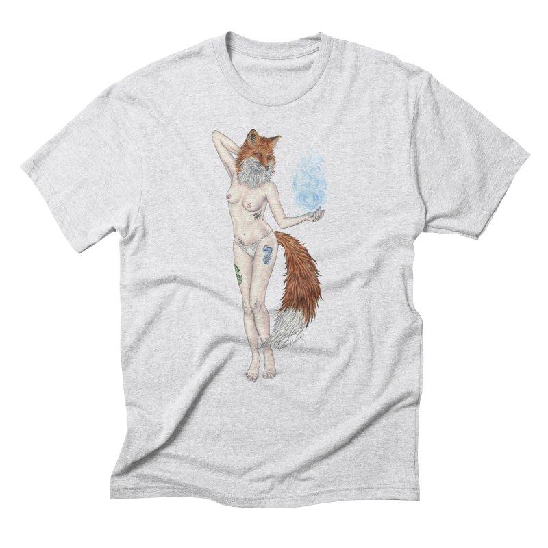 Sparkle Fox Men's T-Shirt by MelJo JoJo's Artist Shop