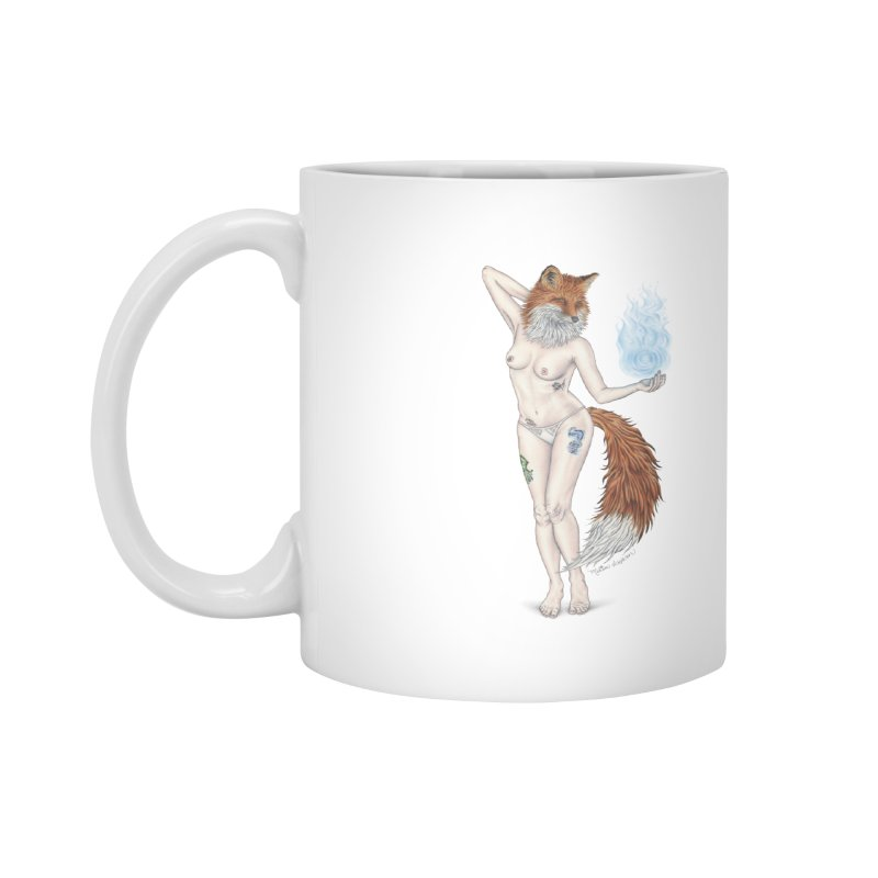 Sparkle Fox Accessories Mug by MelJo JoJo's Artist Shop