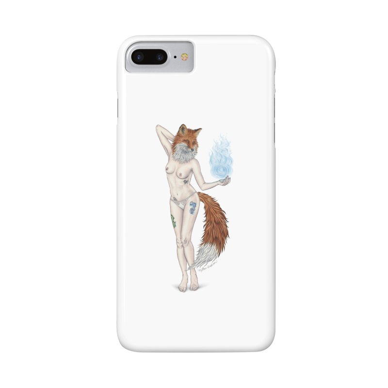 Sparkle Fox Accessories Phone Case by MelJo JoJo's Artist Shop