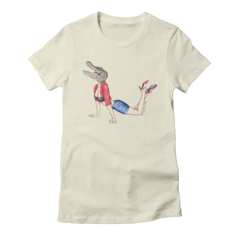 Bayou Betty Women's T-Shirt by MelJo JoJo's Artist Shop