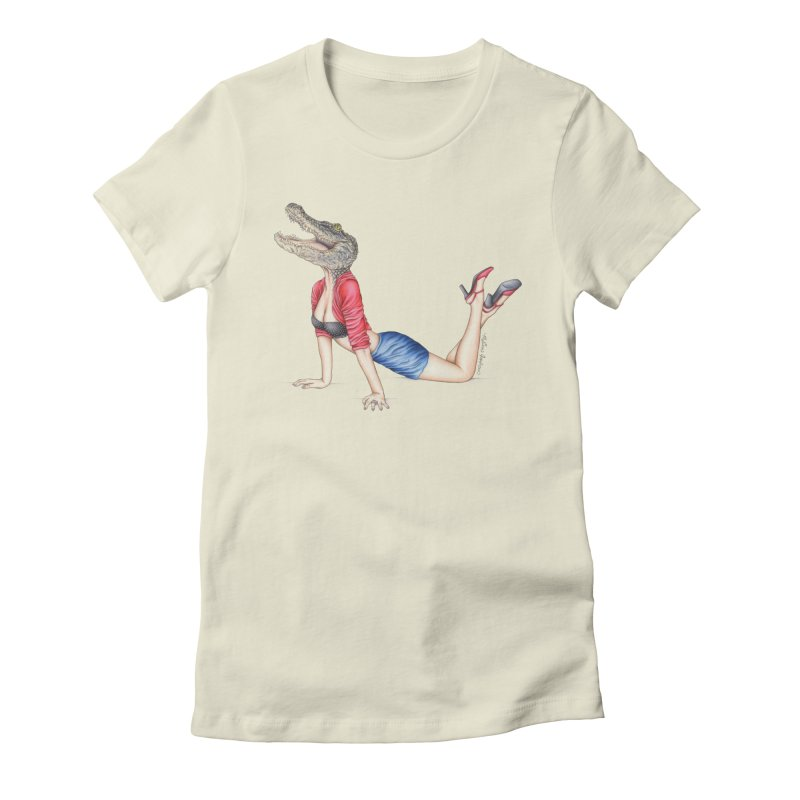 Bayou Betty Women's T-Shirt by MelJo JoJo's Artist Shop