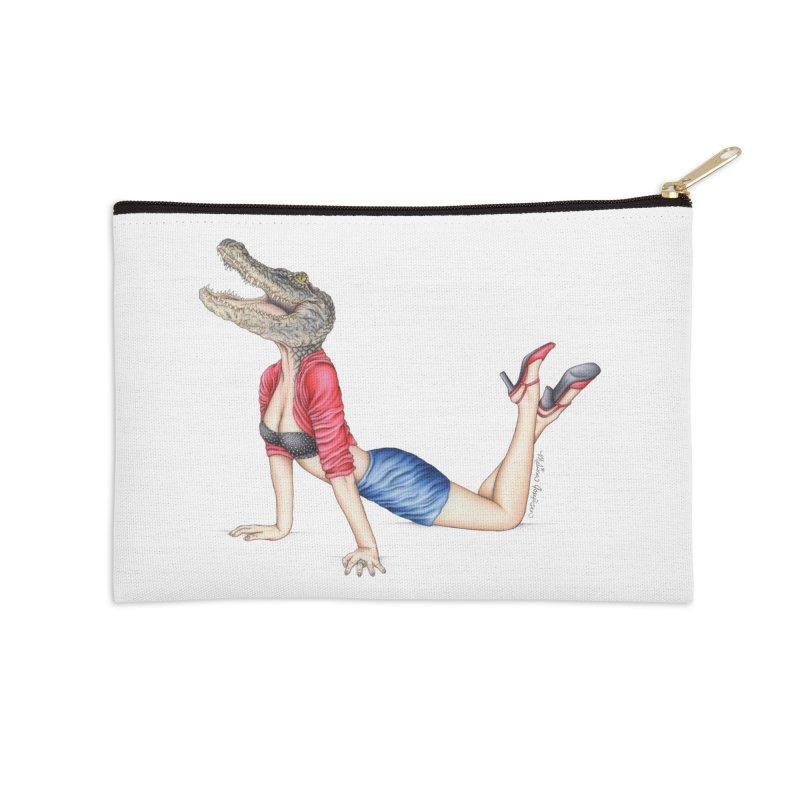 Bayou Betty Accessories Zip Pouch by MelJo JoJo's Artist Shop