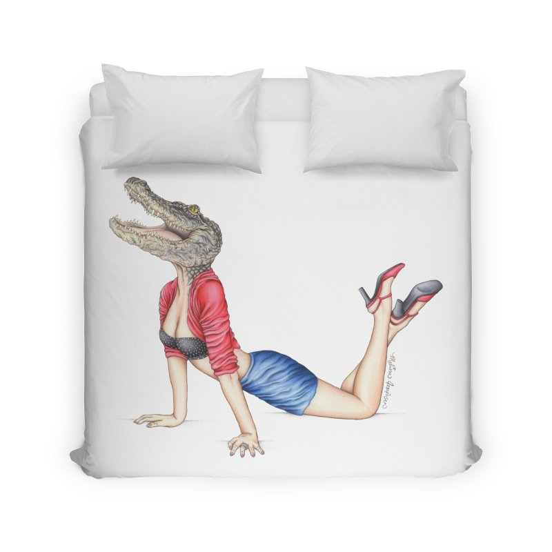 Bayou Betty Home Duvet by MelJo JoJo's Artist Shop