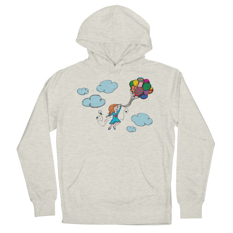 Fly Away Men's Pullover Hoody by MelJo JoJo's Artist Shop