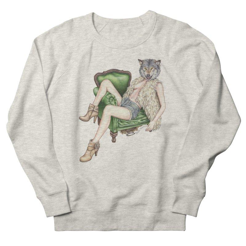 Of Wolf and Woman Men's Sweatshirt by MelJo JoJo's Artist Shop