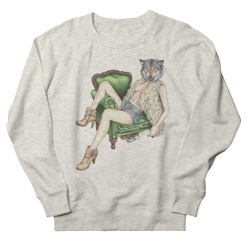 Of Wolf and Woman Men's Sweatshirt by MelJo JoJo's Artist Shop
