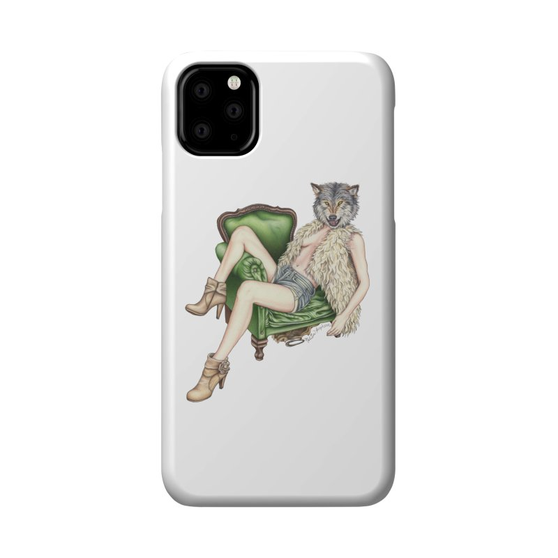 Of Wolf and Woman Accessories Phone Case by MelJo JoJo's Artist Shop