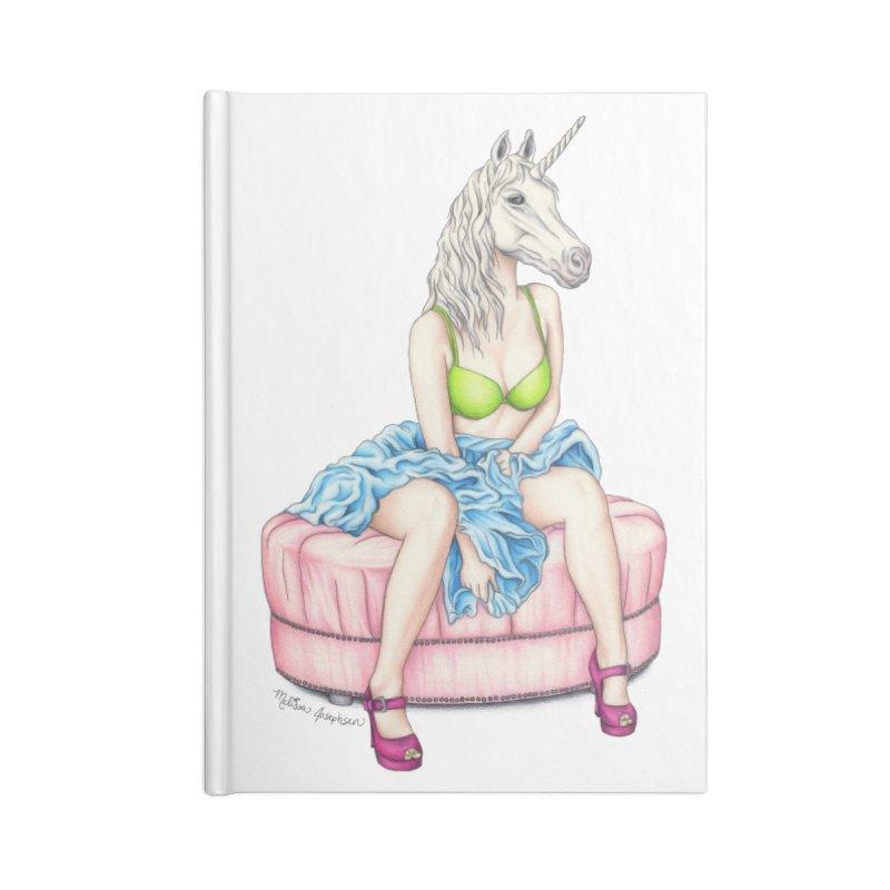 Pretty in Rainbows Accessories Notebook by MelJo JoJo's Artist Shop