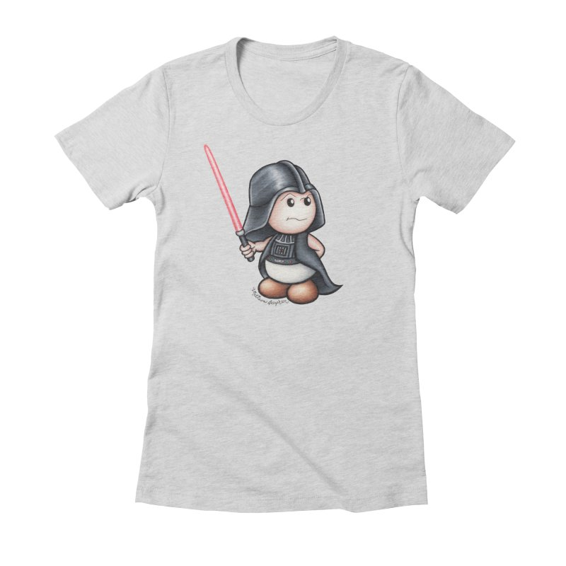 Space Mushroom Women's T-Shirt by MelJo JoJo's Artist Shop