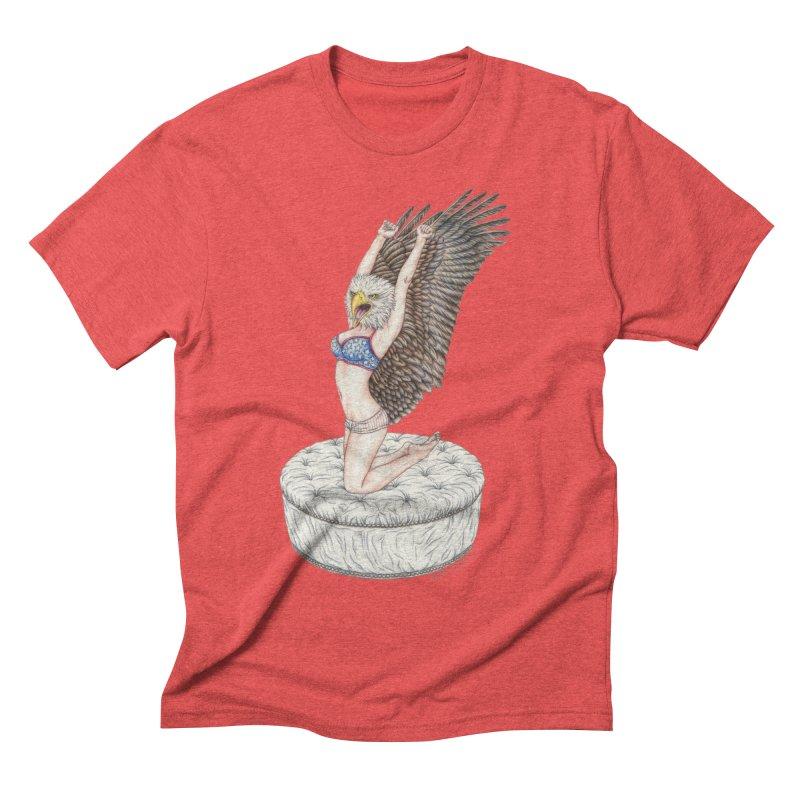 American Woman Men's T-Shirt by MelJo JoJo's Artist Shop