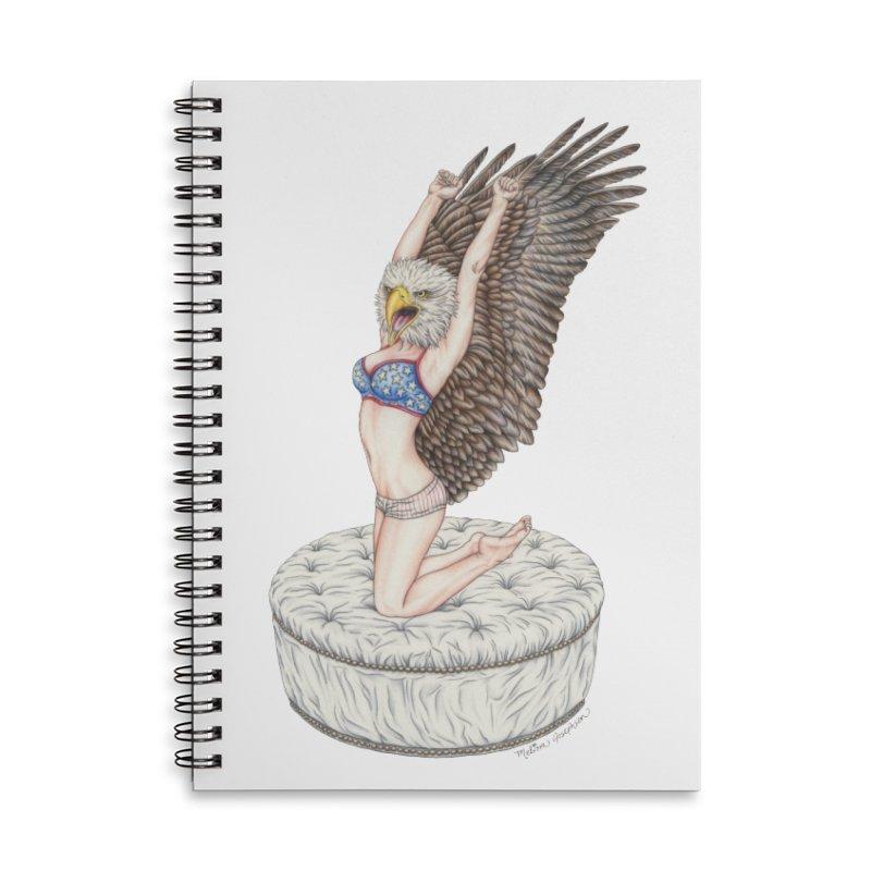 American Woman Accessories Notebook by MelJo JoJo's Artist Shop