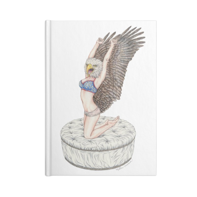 American Woman Accessories Notebook by MelJo JoJo's Artist Shop
