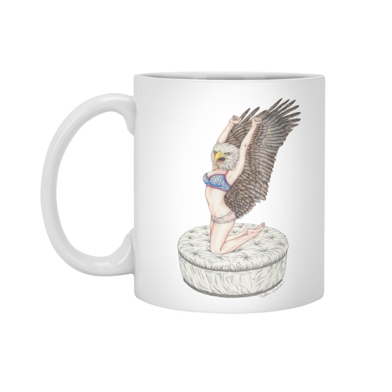 American Woman Accessories Standard Mug by MelJo JoJo's Artist Shop