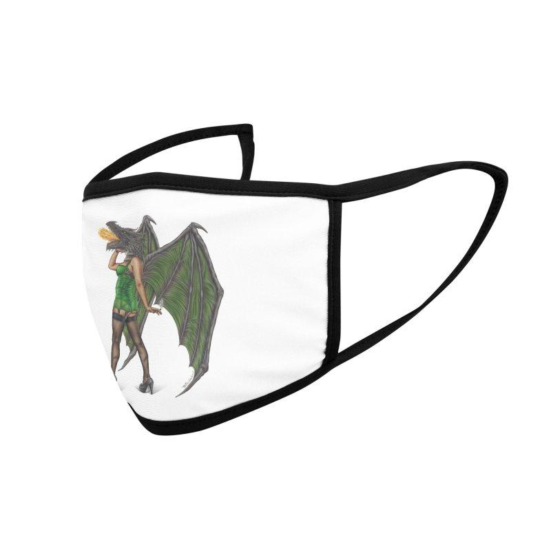Draggin' Lady Accessories Face Mask by MelJo JoJo's Artist Shop