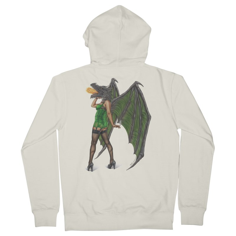 Draggin' Lady Women's Zip-Up Hoody by MelJo JoJo's Artist Shop