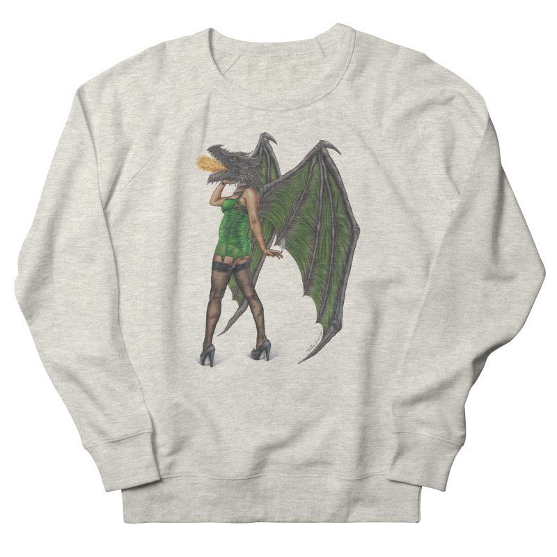 Draggin' Lady Women's Sweatshirt by MelJo JoJo's Artist Shop