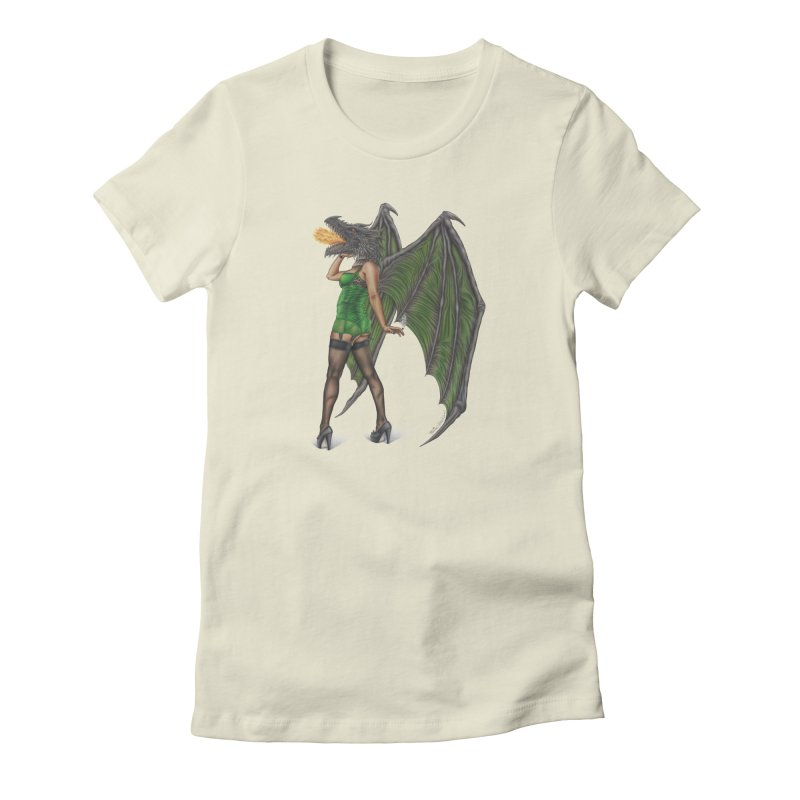 Draggin' Lady Women's T-Shirt by MelJo JoJo's Artist Shop