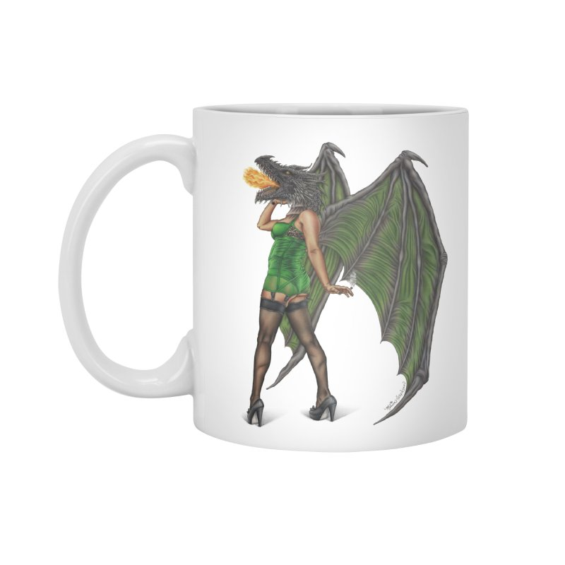 Draggin' Lady Accessories Mug by MelJo JoJo's Artist Shop